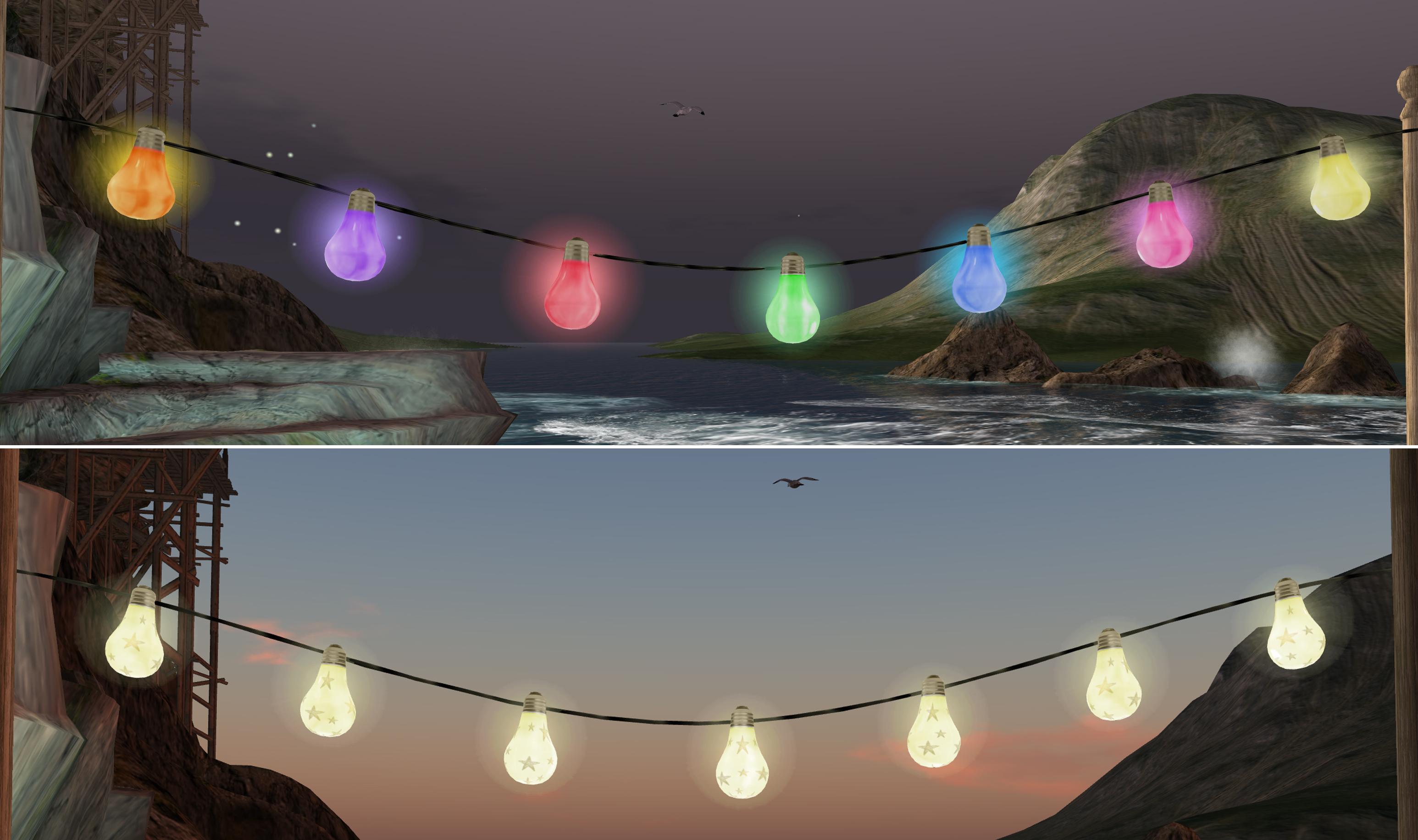 Can Outdoor String Lights Get Wet : Lighting