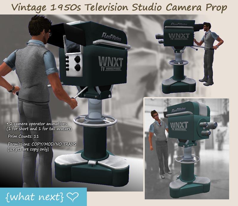 Vintage Television Camera 42