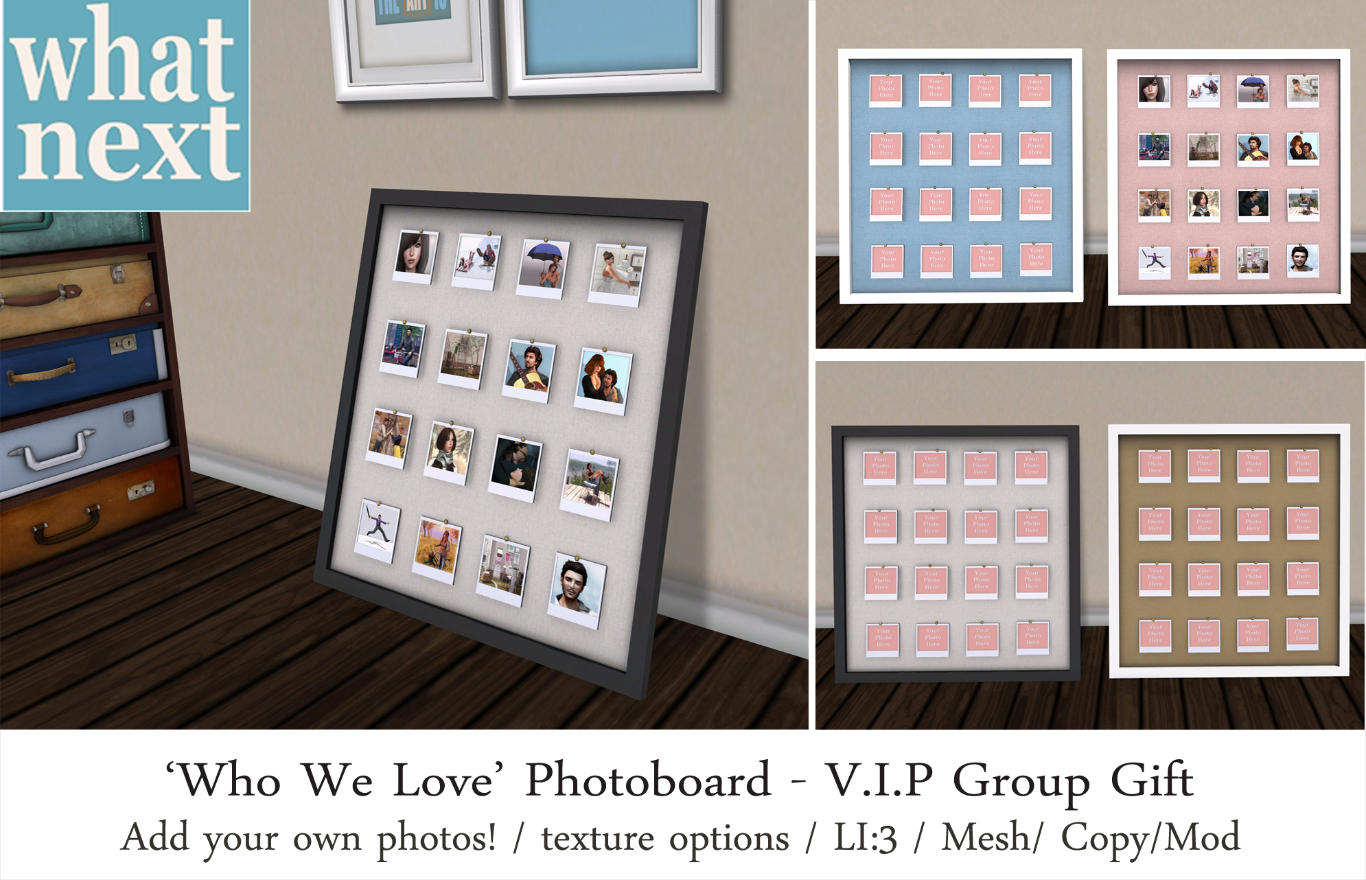 Happy Valentines Day & new VIP Group Gift!