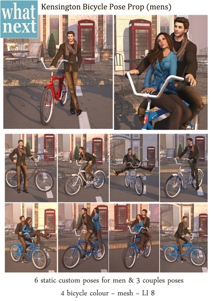 {what next} Kensington Bicycle Pose Prop for Men V2_small