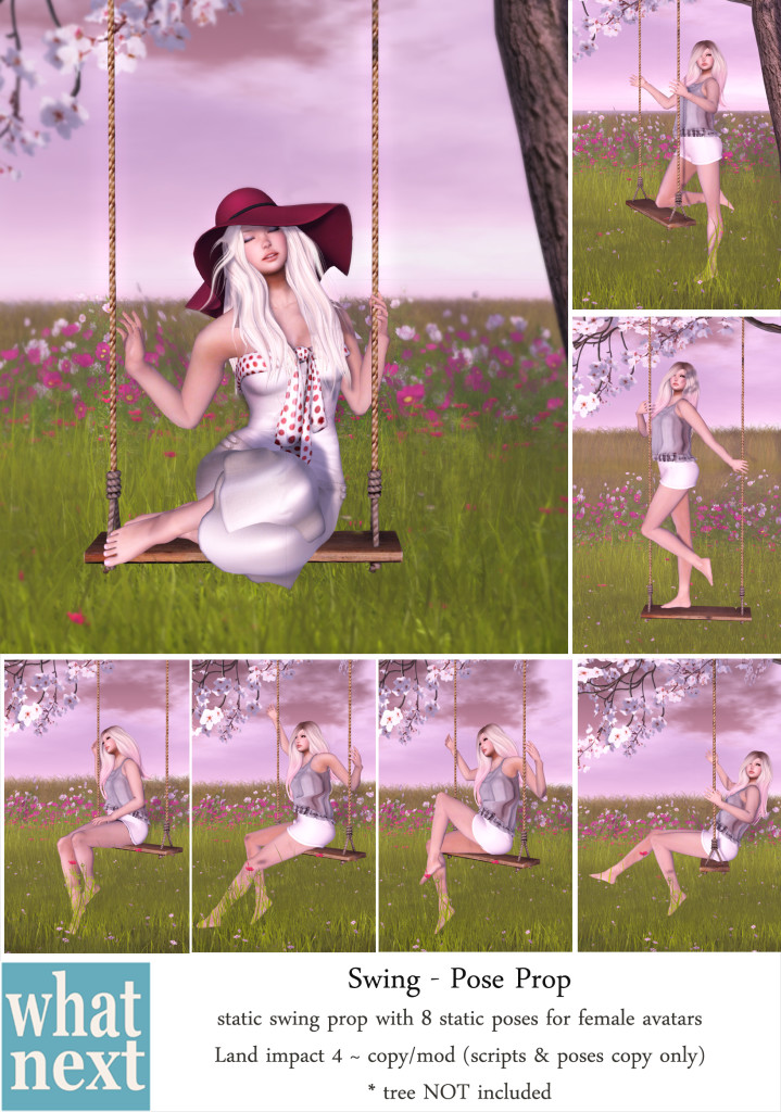 {what next} Tree Swing Pose Prop Vendor