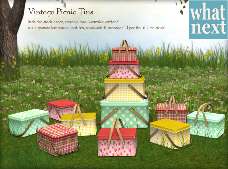 {what next} Picnic Tins Small