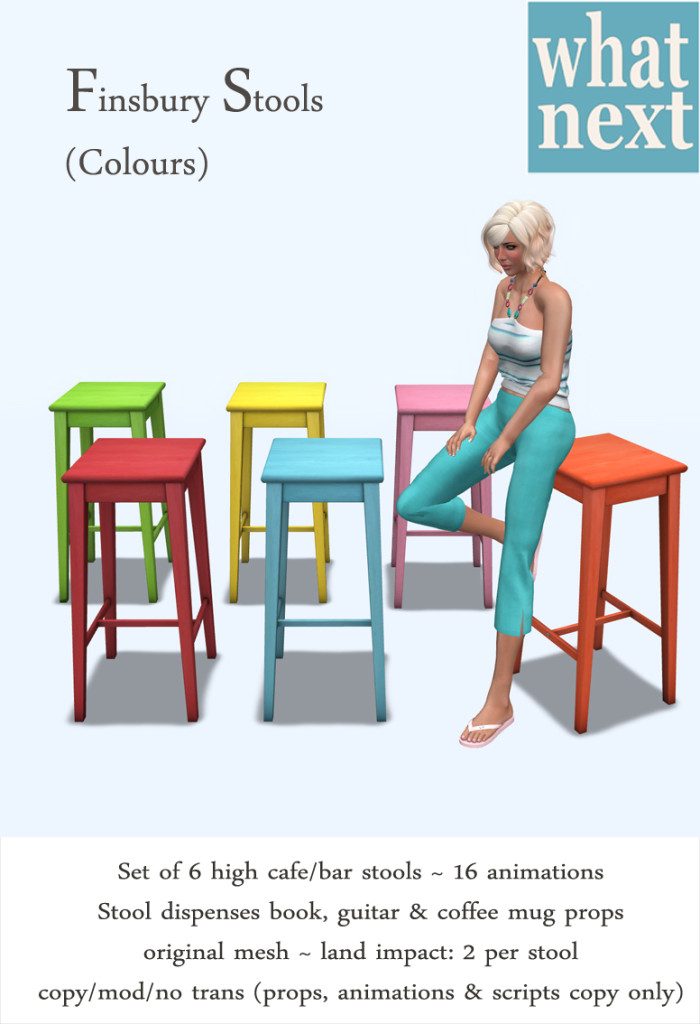 {what next} Finsbury Stools (Colours)
