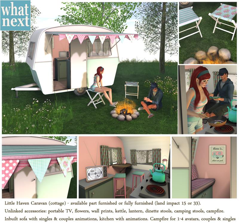 {what next} Little Haven Caravan - 'Cottage' small
