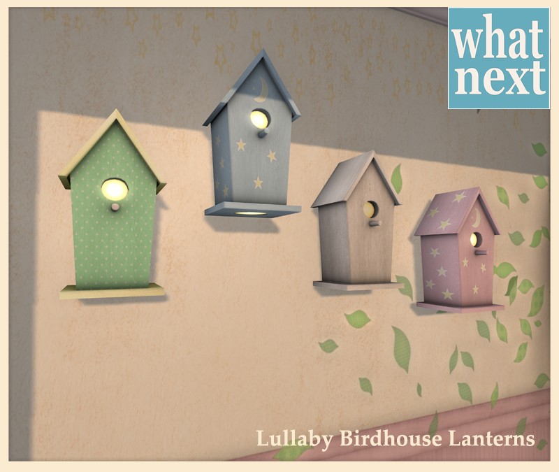 {what next} Lullaby Birdhouse Lanterns for Blog and MP
