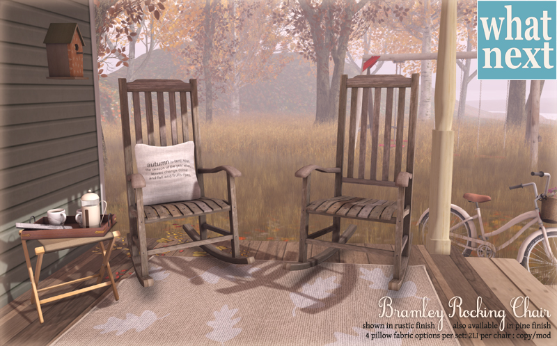 {what next} Bramley Rocking Chair for Fifty Linden Friday for blog