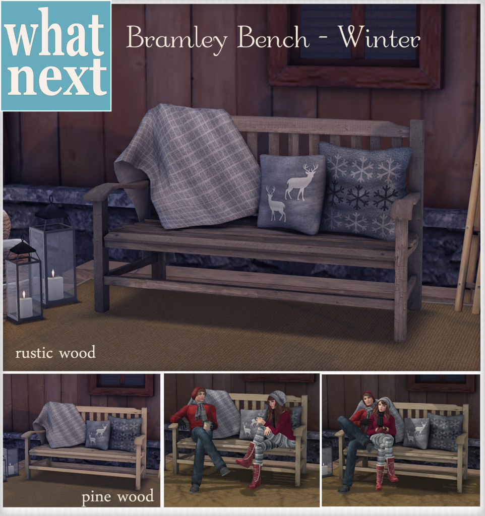 {what next} Bramley Bench - Winterl VendorMarkteplace