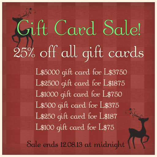 {what next} gift card sale 2013