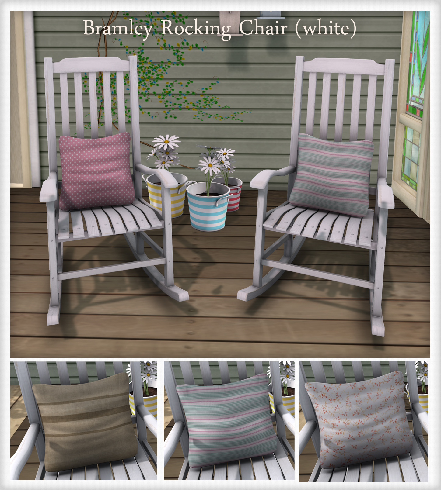 Superb img of what next} Bramley Rocking Chairs White marketplace with #45633A color and 1449x1612 pixels