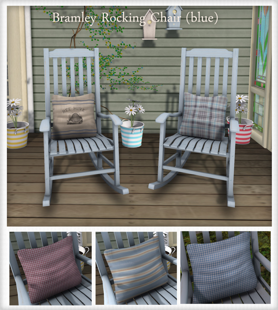 {what next} Bramley Rocking Chairs blue marketplace