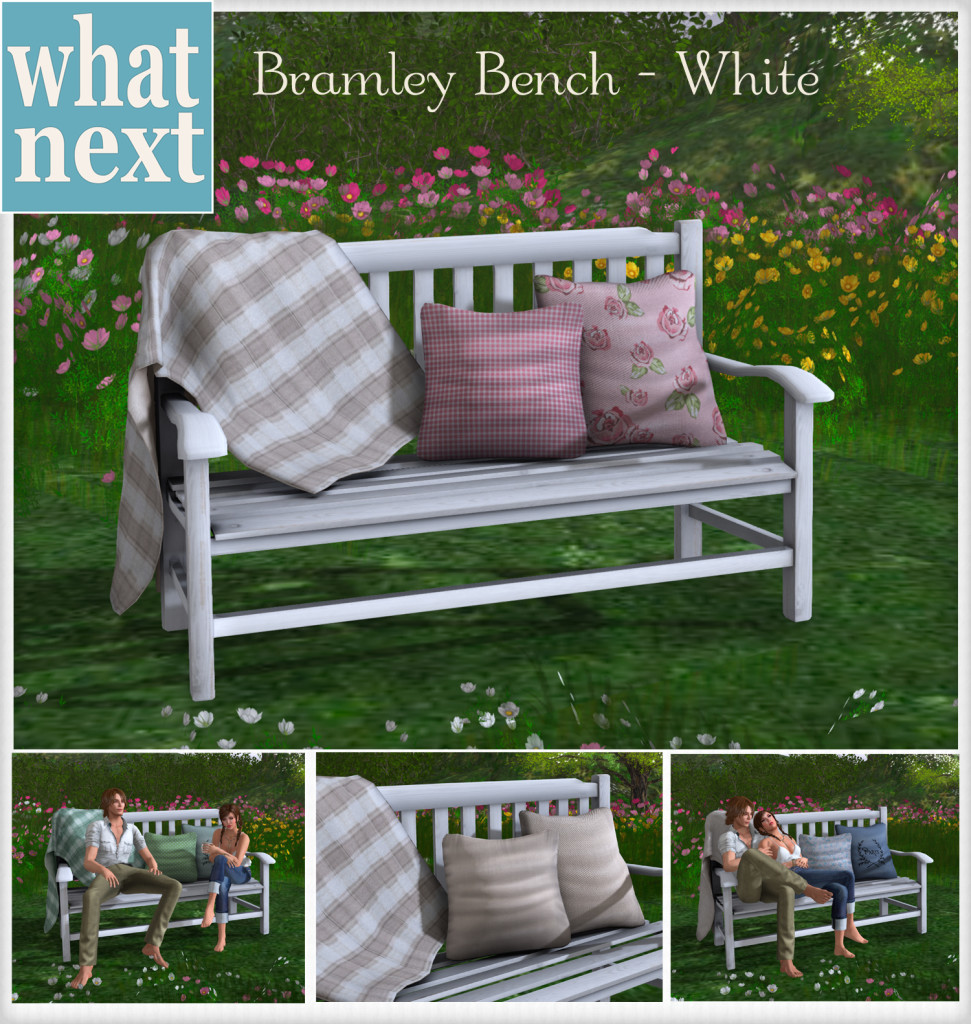 {what next} Bramley Bench - White MP