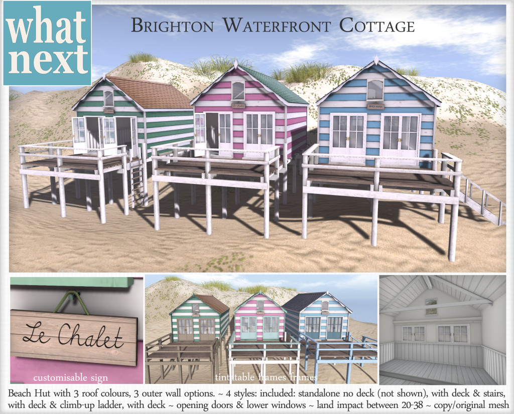 {what next} Brighton Waterfront Cottage Vendor2