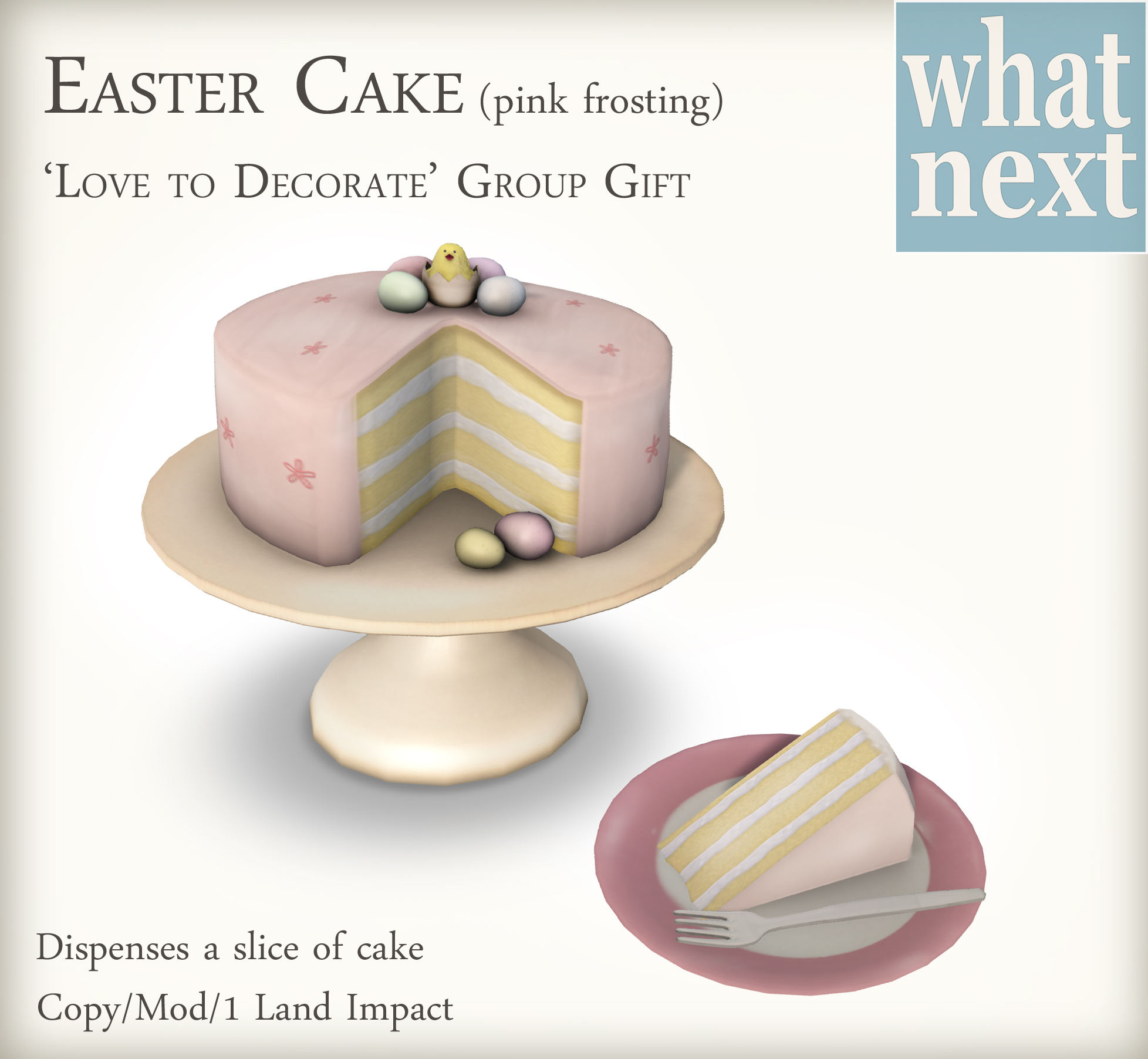 Easter Cake Group Gifts at {what next}