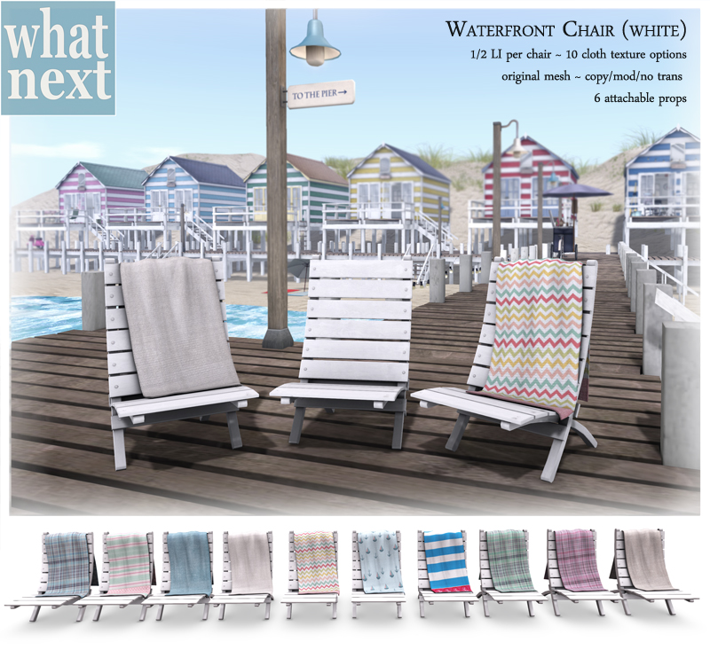 {what next} waterfront chair (white) vendor