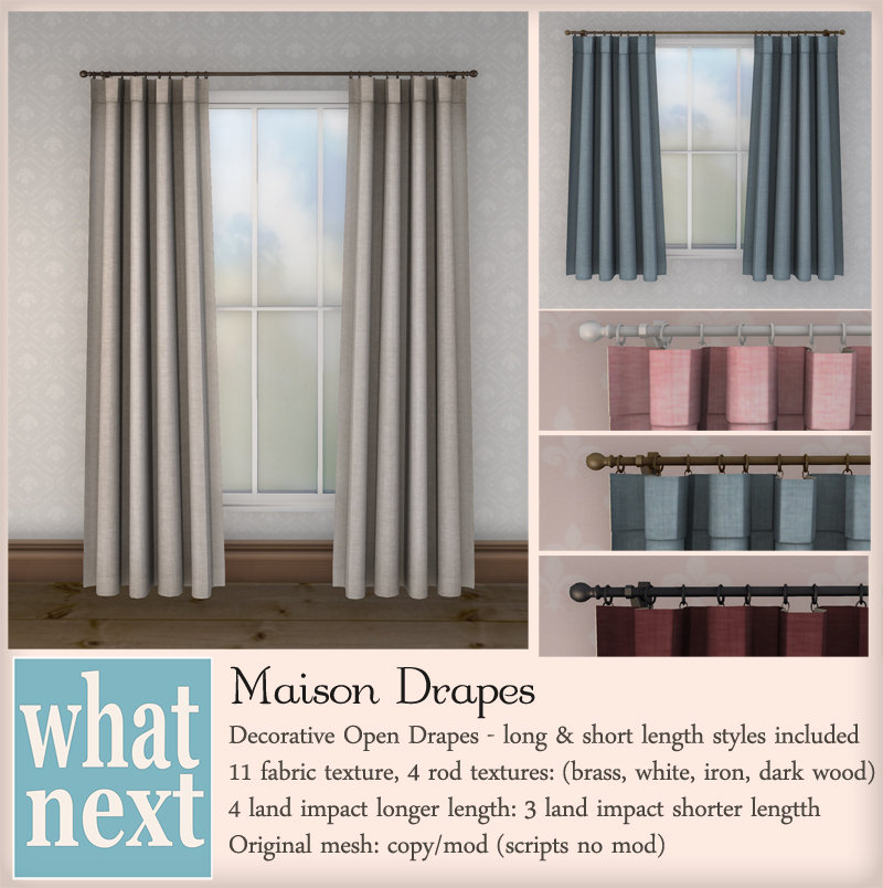 {what next} Maison Drapes 800