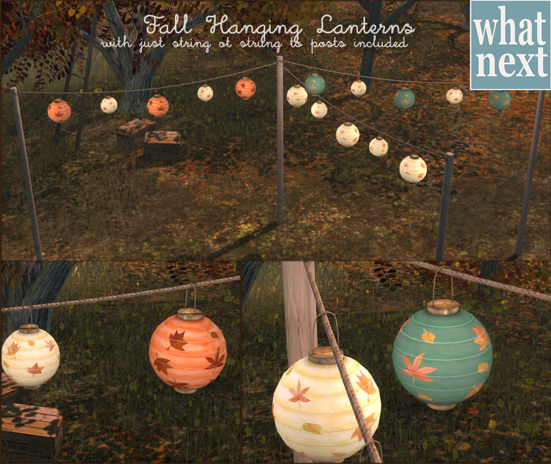 {what next} Fall Hanging Lanterns For Fifty Linden Friday 800
