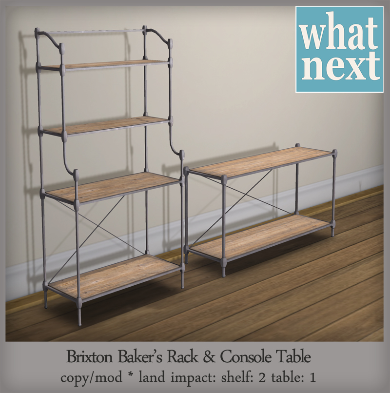 {what next} Brixton Shelves