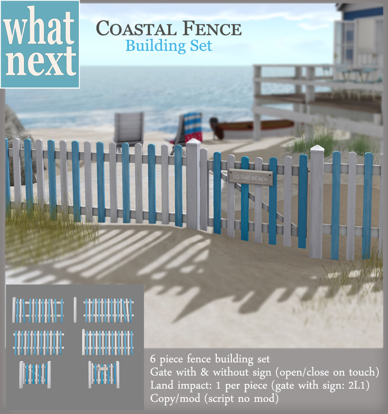 {what next} Coastal Fence Building  800