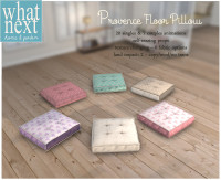 {what next} Provence Floor Pillow 800