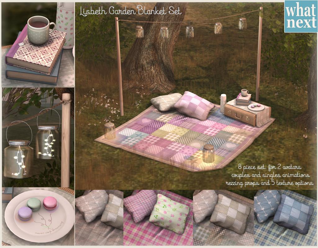 {what next} Lisbeth Garden Blanket Set
