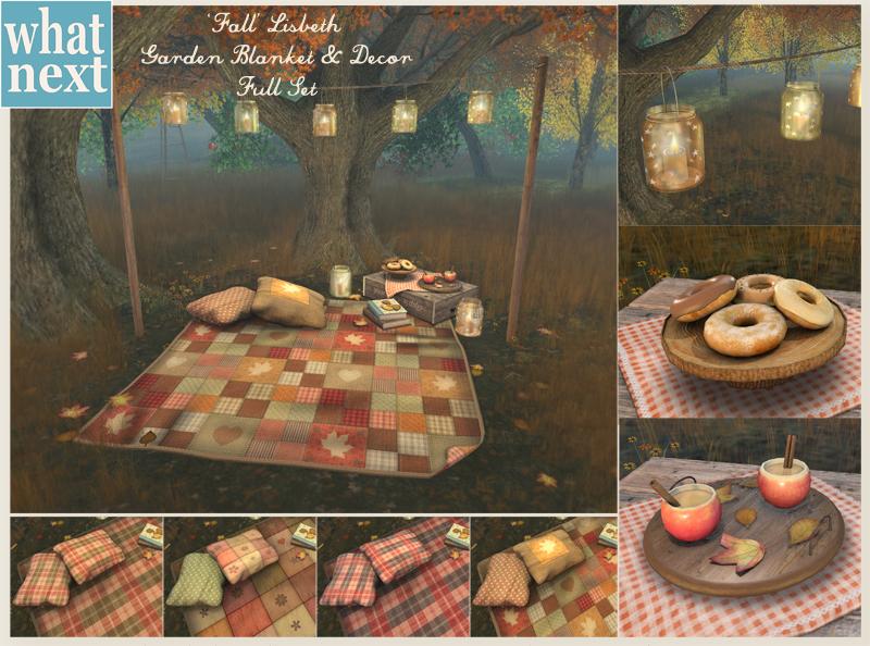 {what next} Fall Lisbeth Garden Blanket & Decor Vendor