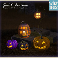 {what next} Jack O Lanterns 800