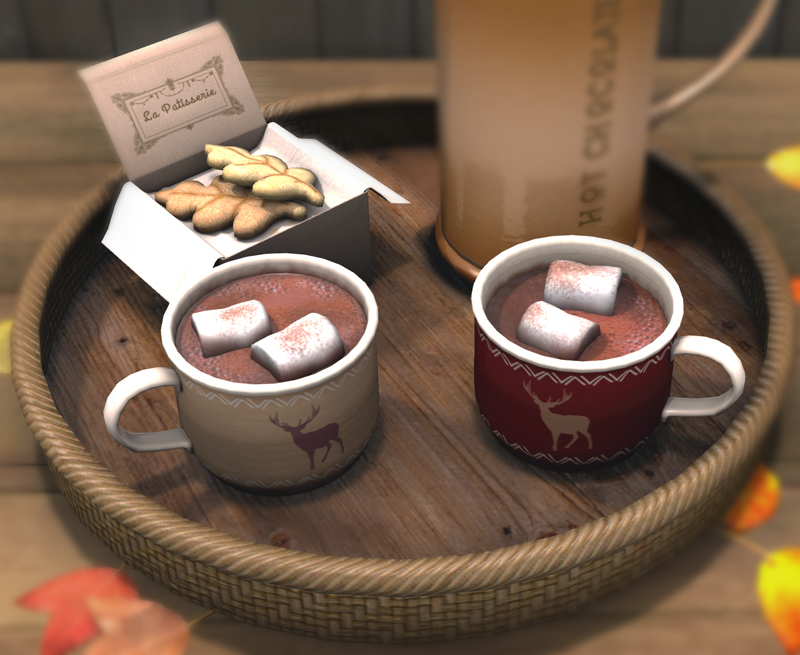 Hot Chocolate Trays @ Collabor88