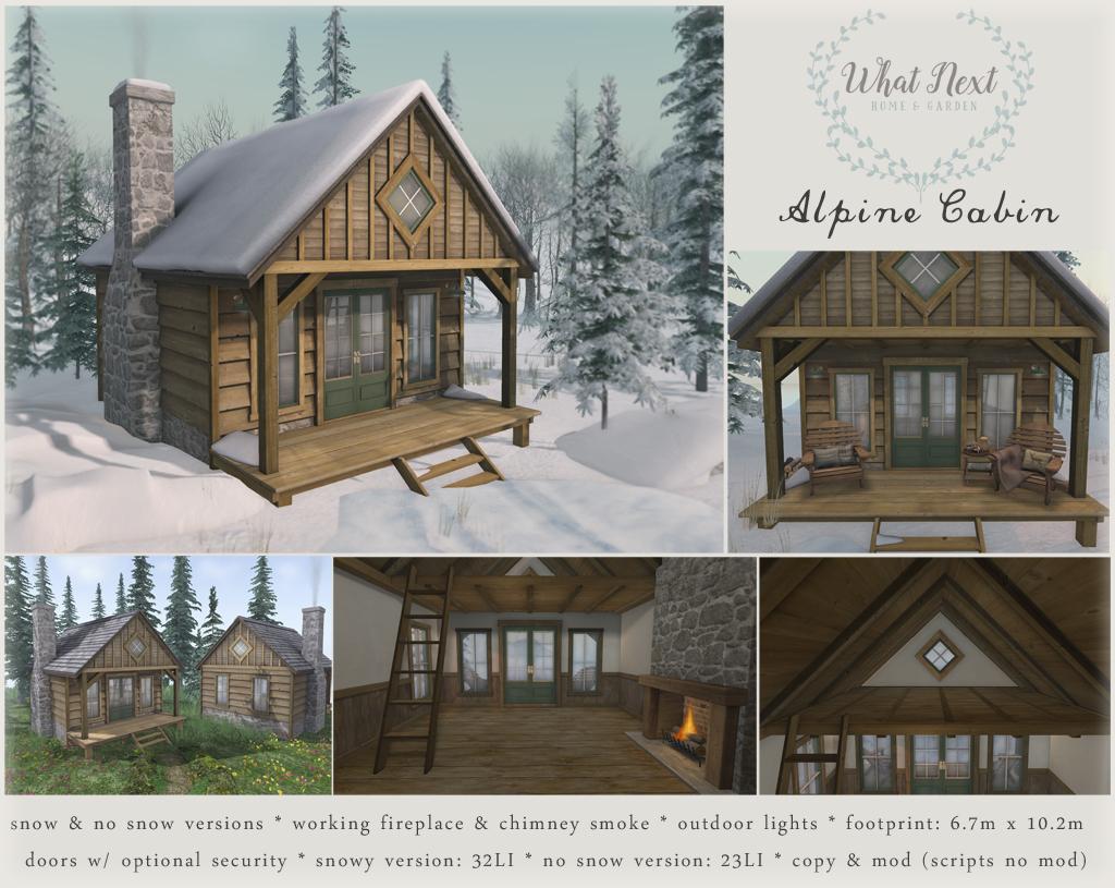 Alpine Cabin for Wayward Winter