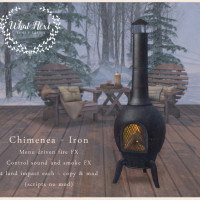 {what next} Chimenea - Iron