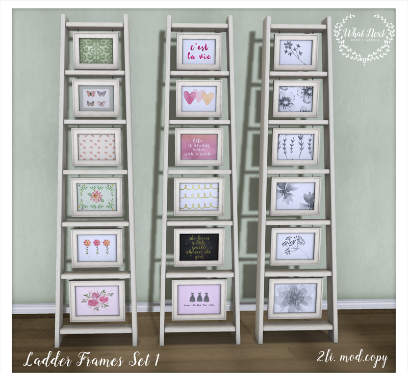 What Next Ladder Frames for Fifty Linden Friday Set 1 800