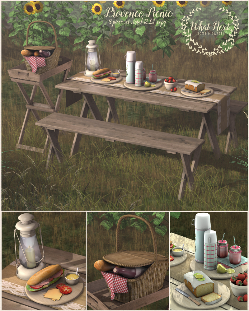 New Provence Picnic at the What Next mainstore!