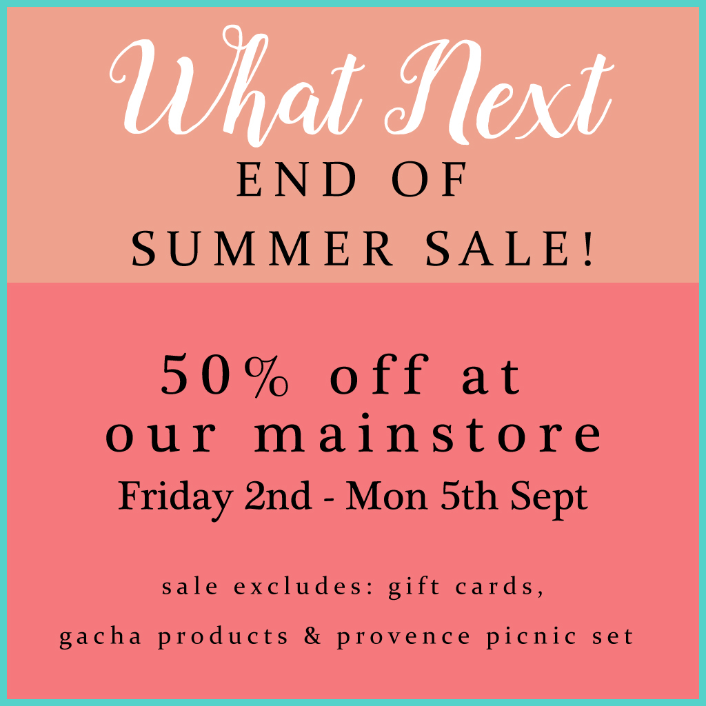 50% off sale at What Next