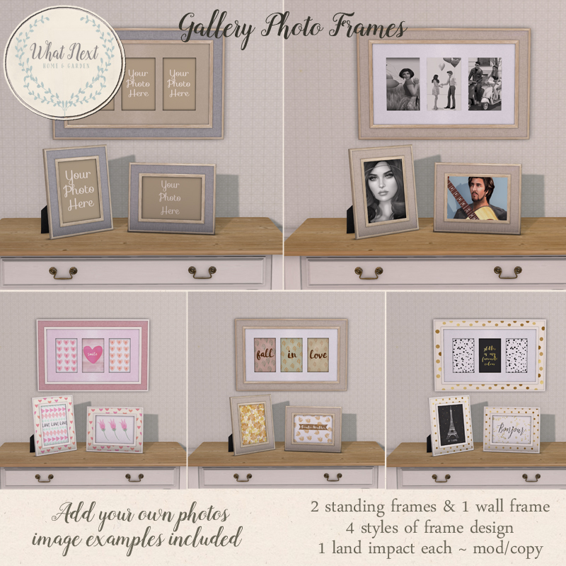 Fifty Linden Friday: Photo Frames