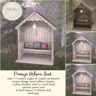 Penryn Arbour Seat: Collabor88