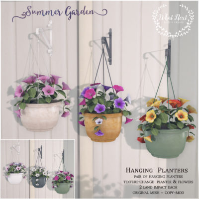 Summer Garden Planters for Fifty Linden Friday