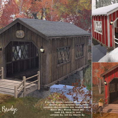 Kissing Bridge : new at the mainstore!