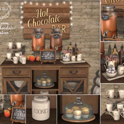 Colonna Hot Chocolate Station @ mainstore