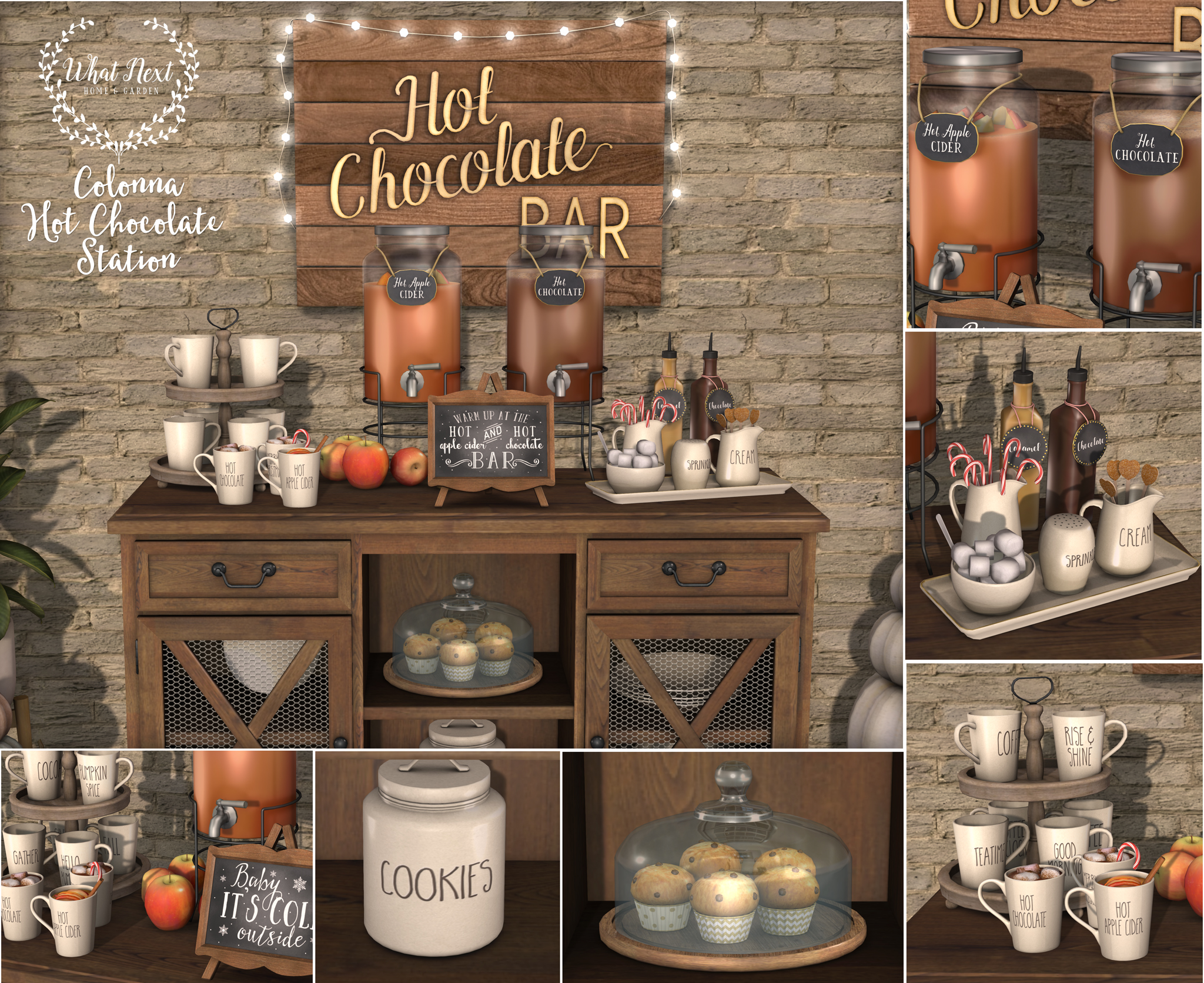 Colonna Hot Chocolate Station Mainstore