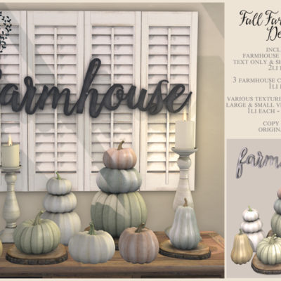Farmhouse Decor for Fifty Linden Friday