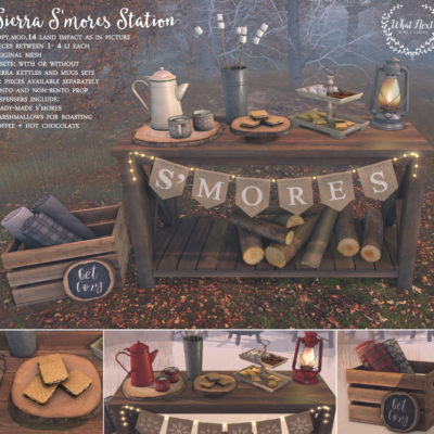 Sierra S'mores Station @ the mainstore
